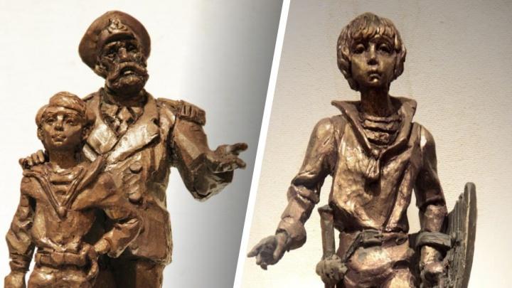 Ковер-самолет и каравелла: в Екатеринбурге покажут скульптуры для сквера имени Крапивина