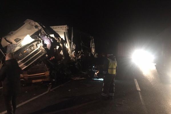КАМАЗ столкнулся со Scania