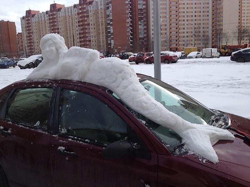 Ищите плюсы в снегопаде