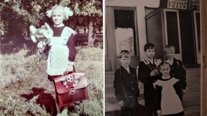 День знаний: самарцы показали ретроснимки со своих линеек