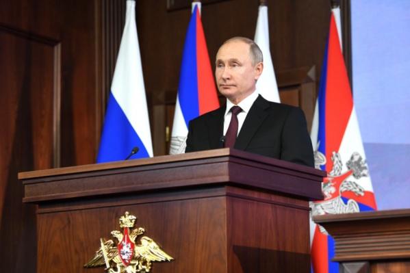 Владимир Путин сможет вновь баллотироваться на два срока