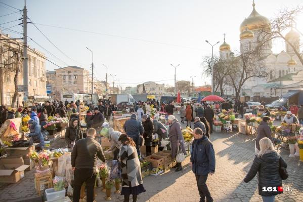 В среду в Ростове потеплеет до +13 градусов