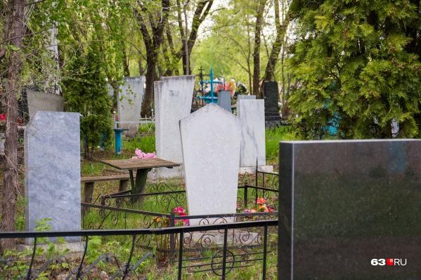 """По примерным подсчетам, места на кладбищах Самары закончатся через <nobr class=""""_"""">5 лет</nobr>"""
