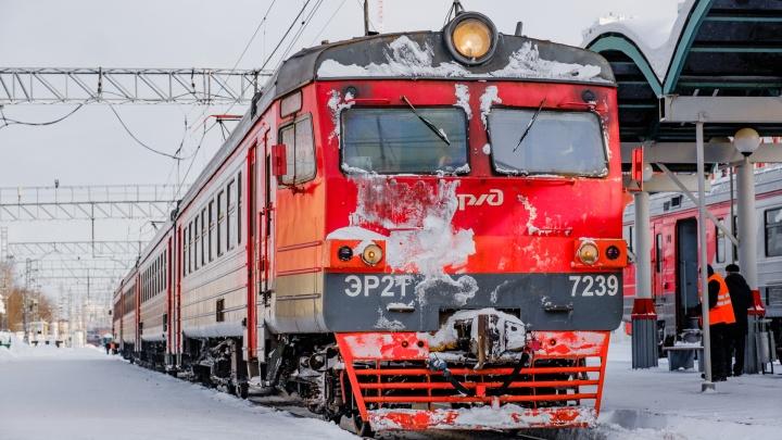 В Пермском крае из-за празднования Дня защитника Отечества изменят график движения электричек
