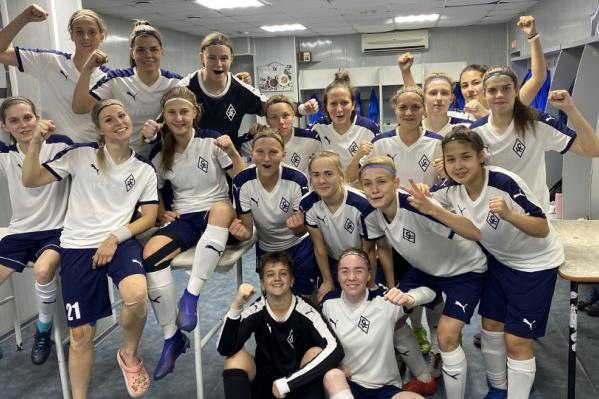 Девушки уверенно идут к финалу Кубка России по футболу