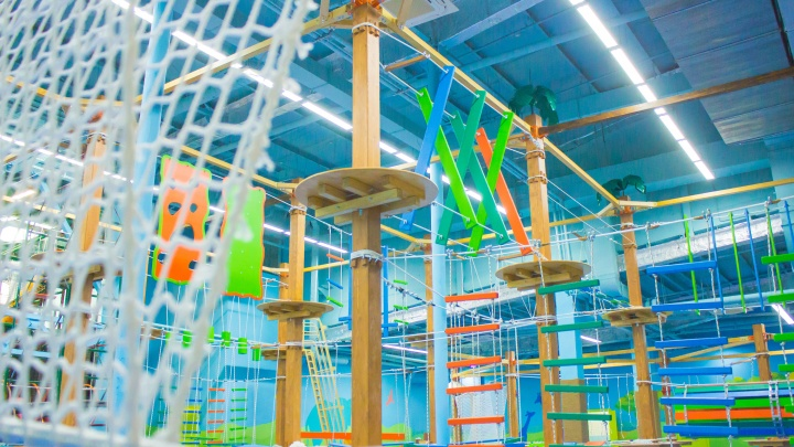 В Новосибирске СРЦ «Веселый остров» открывает новый развлекательный комплекс для детей и взрослых