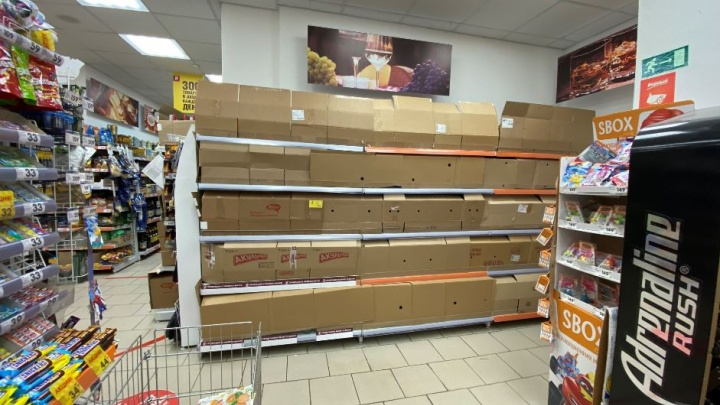 Снова сухой закон? Крупной продуктовой сети на Урале запретили продавать алкоголь
