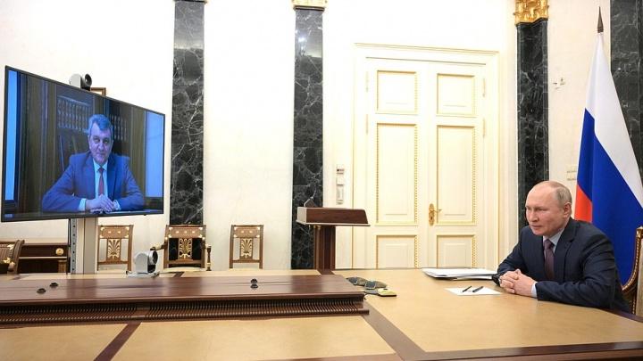 «Республика для вас родная»: публикуем расшифровку беседы Путина иМеняйло— чем займется экс-полпред