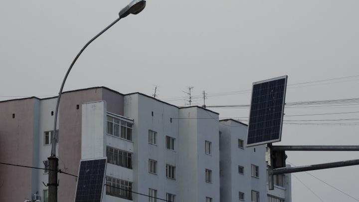В Мичуринском, жители которого страдают без освещения, к осени установят новые фонари