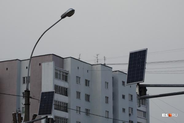 В городе установят 283 новых фонаря