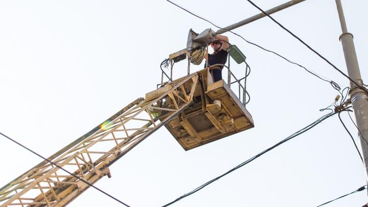 Сотни домов в Ростове в ближайшую неделю останутся без света. Да, опять