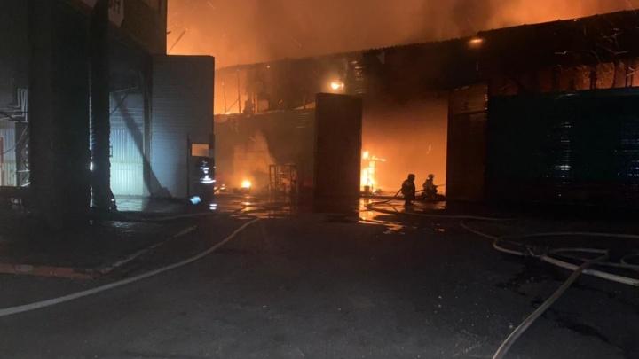 Стала известна причина ночного взрыва в здании автосервиса под Уфой