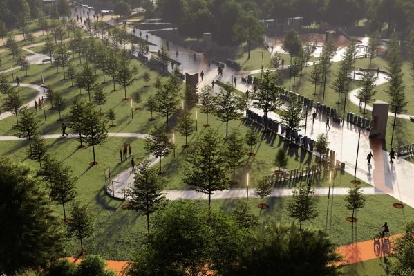Новый парк станет одним из самых благоустроенных объектов региона, центром притяжения туристов и любимым местом отдыха горожан