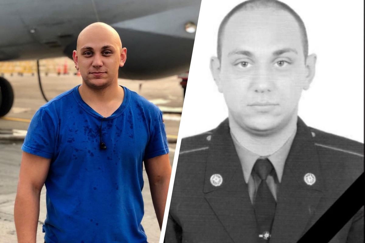 Максим Рябцев, сержант, самый молодой пожарный звена
