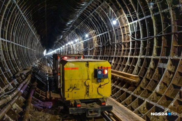 В Красноярске уже давно выкопан один из тоннелей