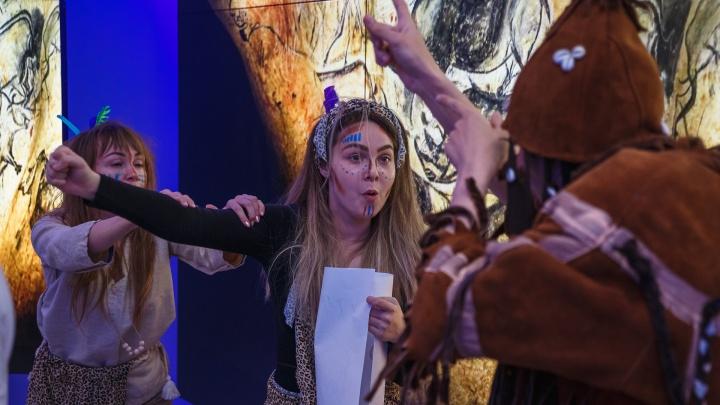 Динозавры, мастер-классы и научные шоу: фоторепортаж с «Ночи музеев» в Кемерово