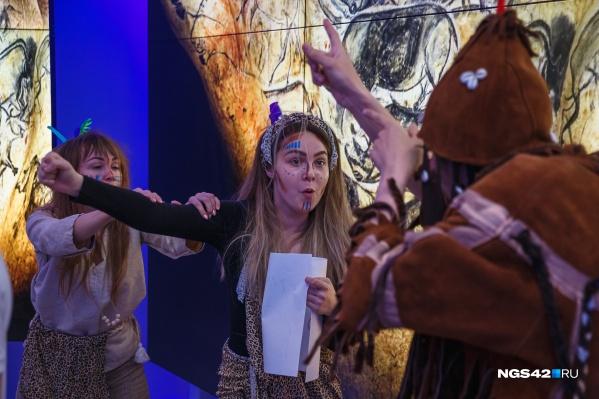 В краеведческом музее посетителям предлагали побывать в ледниковом периоде