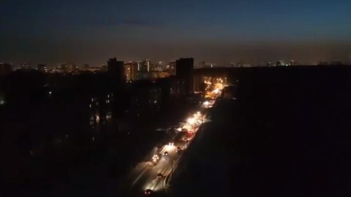 В Перми на Парковом дома на нескольких улицах остались без электричества