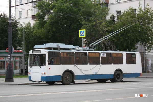 В конце июля троллейбусы отключили от электроэнергии за долги