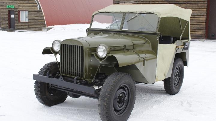 Первый джип СССР. В Новосибирске отыскали прародителя современных кроссоверов — посмотрите на редчайшую машину