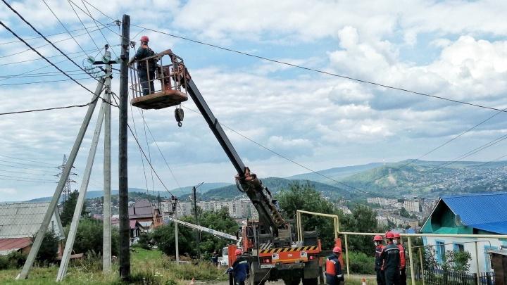 Энергетики построили новые электросети в Златоусте