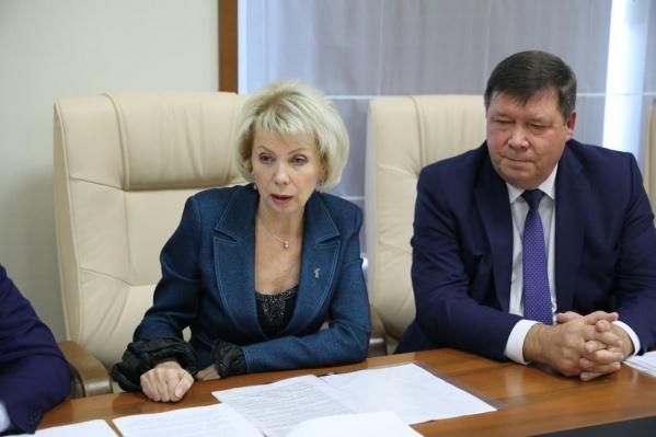 Детский омбудсмен Анна Кузнецова поддержала предложения ярославского депутата Ларисы Ушаковой