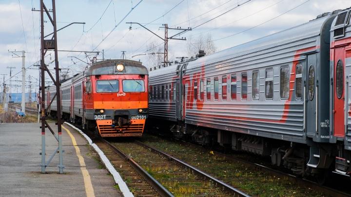 Власти восстановят движение поездов между станциями Пермь-I и Пермь-II