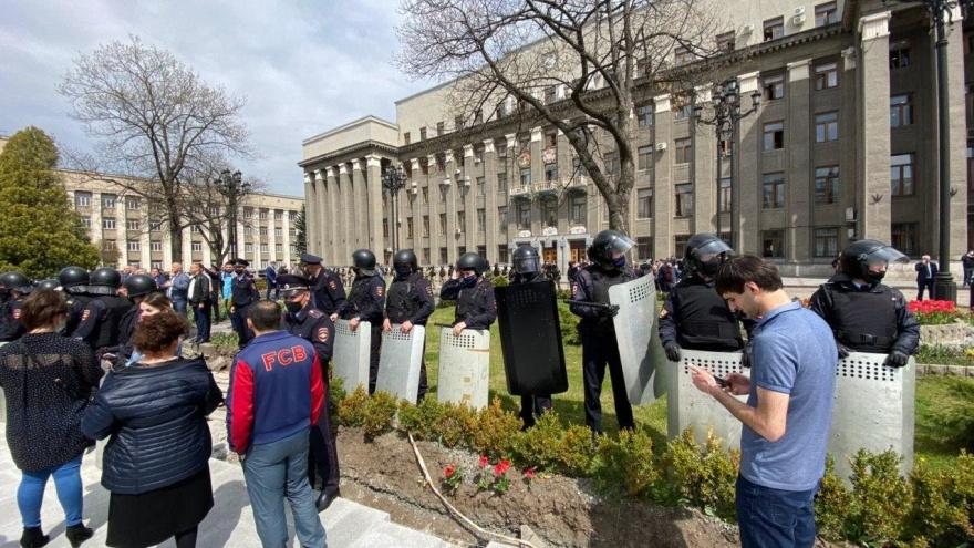 В Ростове осудили участников беспорядков на антиковидном митинге