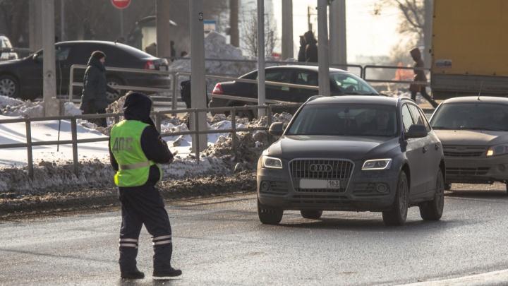 На дорогах Самарской области будет дежурить практически весь личный состав ГИБДД