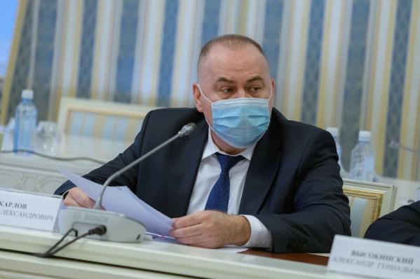 Андрей Карлов рассказал, что в регионе второго компонента вакцины в несколько раз больше, чем первого