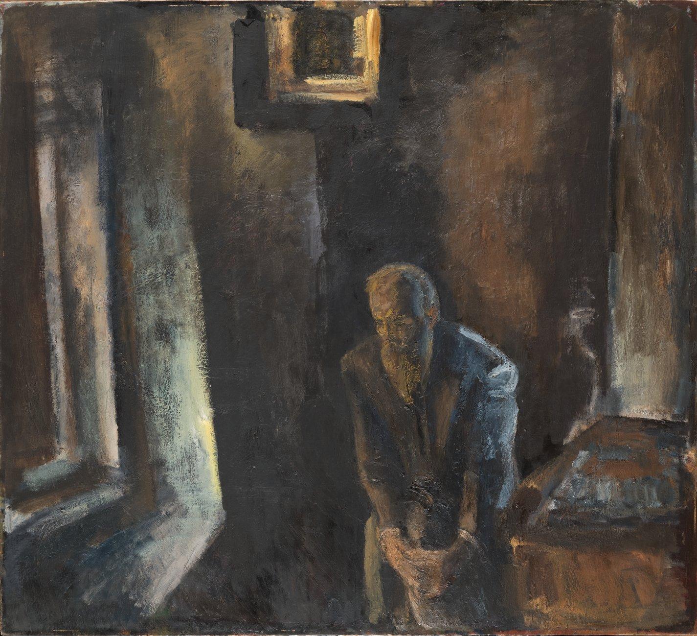 Юрий Павлов. Федор Достоевский. 1978. Холст, масло