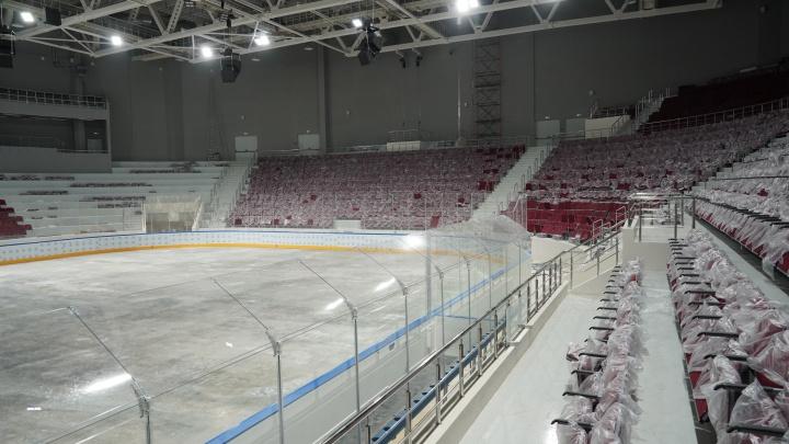«Это первый профессиональный лед для керлинга»: губернатор — о новом Дворце спорта в Самаре