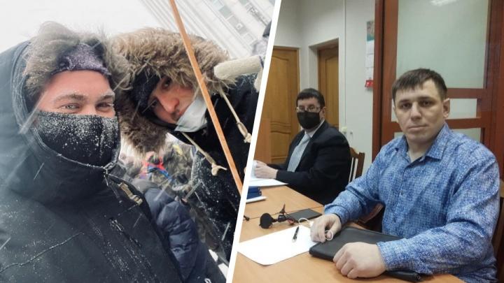 Штрафы и обязательные работы: за акции протеста наказали еще трех северян