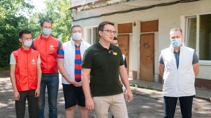 Пермские волонтеры навестили детей, заболевших коронавирусом