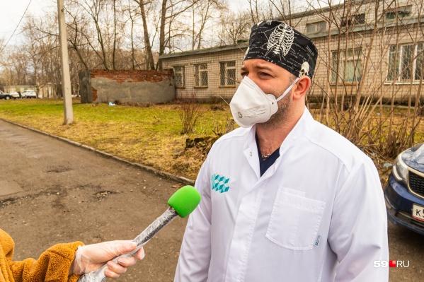 Роман Конев два года руководил Краевой березниковской больницей