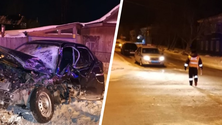 «Пострадал полицейский»: на Урале пьяный водитель пытался уйти от погони ипротаранил патрульный УАЗ