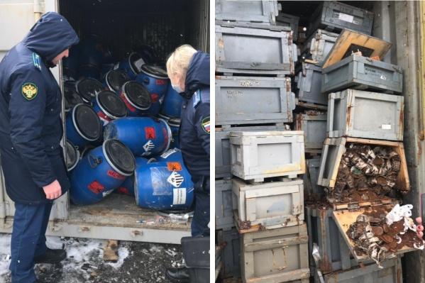 Неизвестные отходы нашли сотрудники прокуратуры