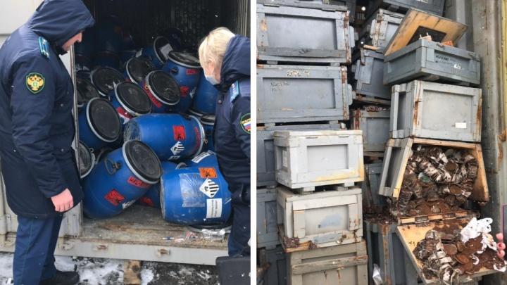 С полигона «Серебристый» вывезли неизвестные отходы. Прокуроры нашли их в черте Красноярска