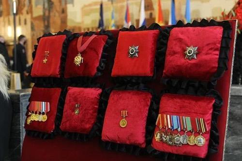 Все медали, которые получил за свою жизнь Николай Антошкин