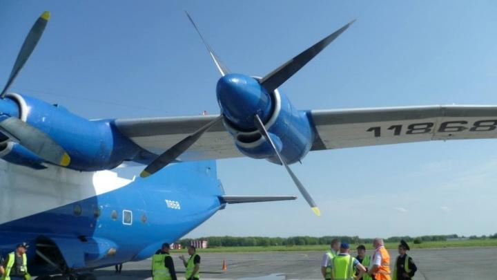 Новосибирский самолет экстренно приземлился в Перми из-за отказа двигателя