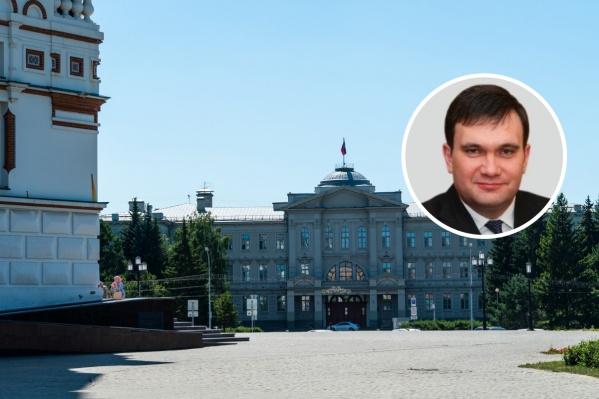 Андрей Кипервар — уже более 5 лет как депутат омского Заксобрания