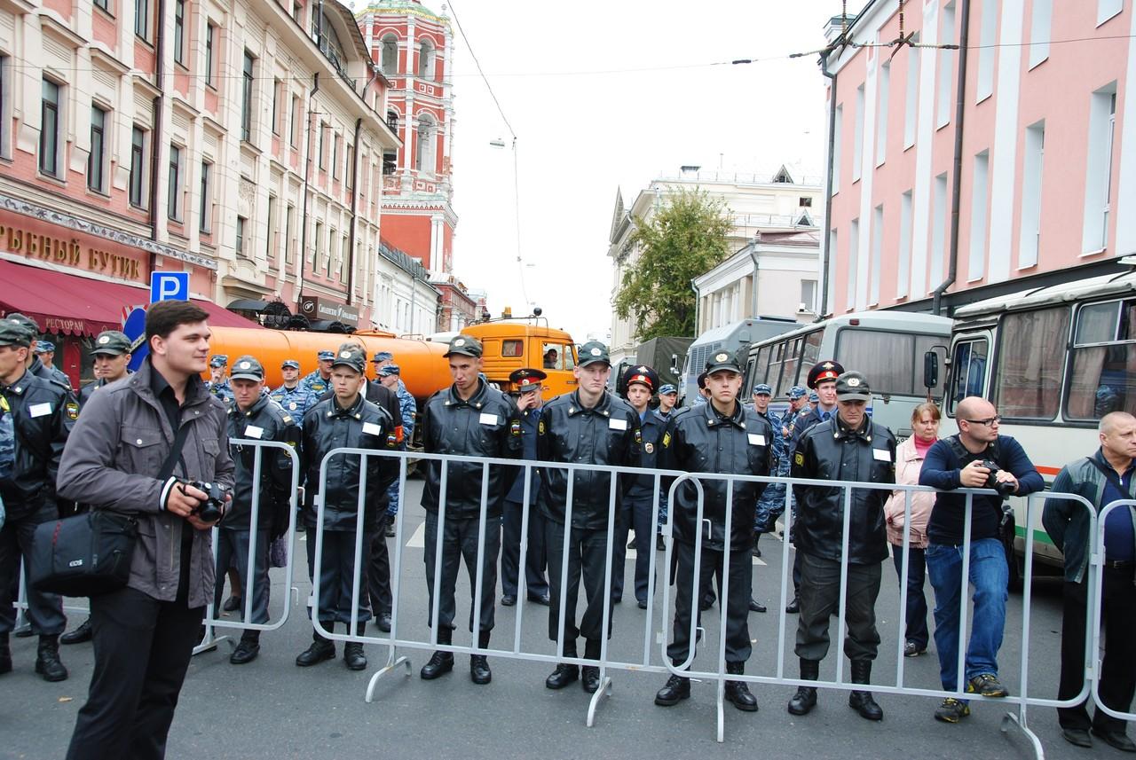Полиция уже готова