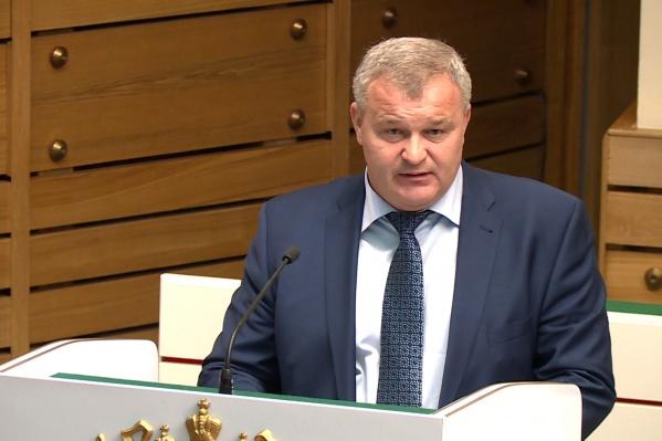 Вячеслав Телегин с октября 2018 года занимает пост первого замгубернатора