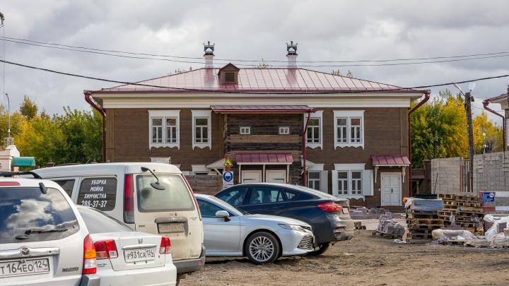 В историческом центре Красноярска появится еще одна гостиница