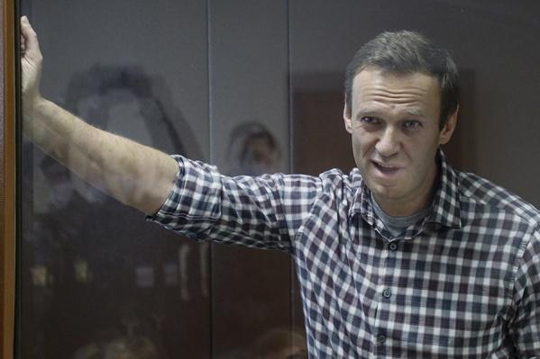 Алексей Навальный находится в «Матросской тишине» с середины января