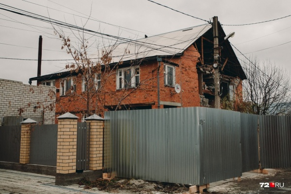 Дом Чистяковых в Метелева