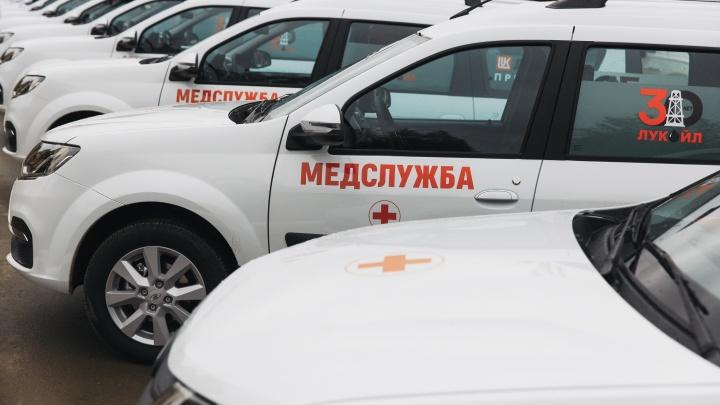 Новые медицинские автомобили и спортивный стадион: «ЛУКОЙЛ» продолжает развивать соцсферу Прикамья