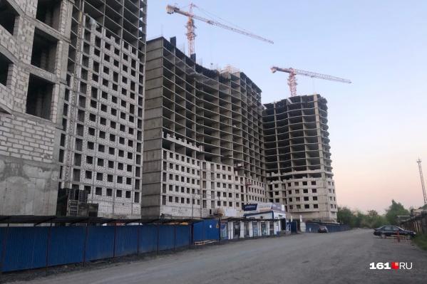 Строительство ЖК «Державинский» продолжается