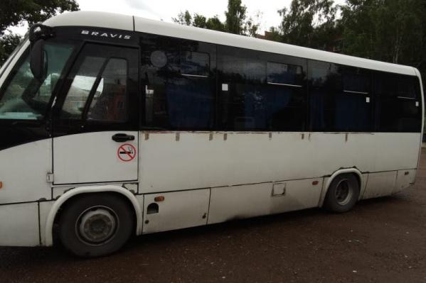 Всё произошло в рейсовом автобусе Красноярск — Минусинск