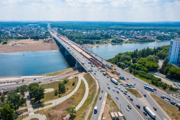 Мост-вставка через реку Белую будет проходить в створе улицы Воровского